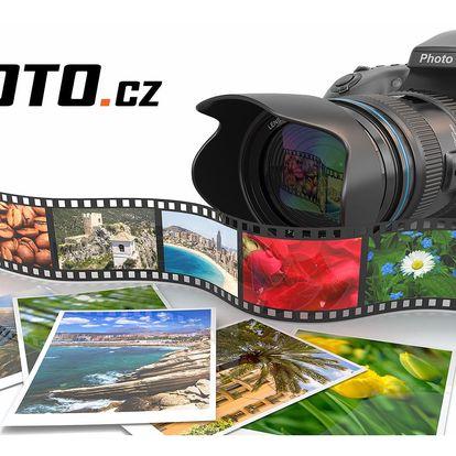 Tisk 10 velkoformátových fotografií, formáty A4 nebo A3