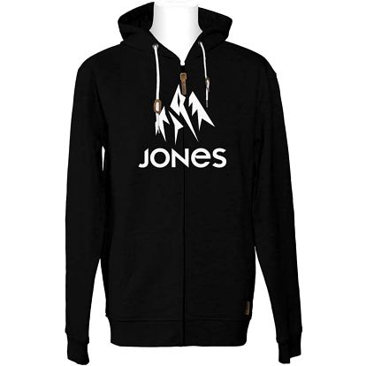 mikina JONES - Truckee Hoody Zip (PLAIN BLACK)