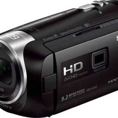 Videokamera Sony HDR-PJ410B černá + Doprava zdarma
