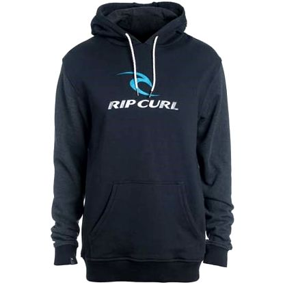 mikina RIP CURL - Corps Hooded Black (90)