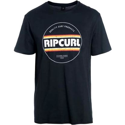 triko RIP CURL - Biggy Ss Tee Black (90)
