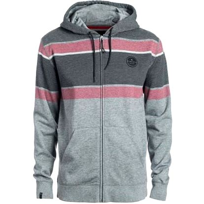 mikina RIP CURL - Lines Zt Hooded Beton Marle (9032) velikost: M