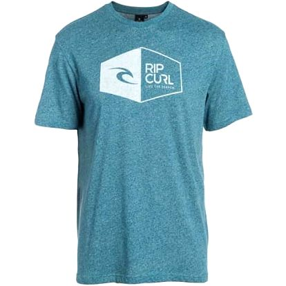 triko RIP CURL - 3D Icon Ss Tee Tapestry Marle (9348) velikost: L
