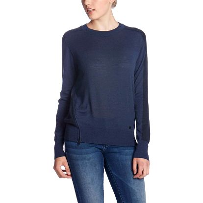 svetr BENCH - Deftness Dress Blue Marl - Navy (BL056X-NY031X)