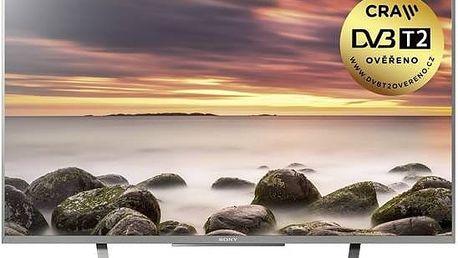 Televize Sony KDL43WD757SAEP stříbrná + Doprava zdarma