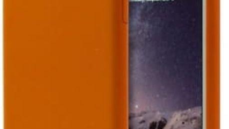 Kryt na mobil Aprolink Ultimate-thin leather back cover pro iPhone 6 (i6DF10.OR) oranžový