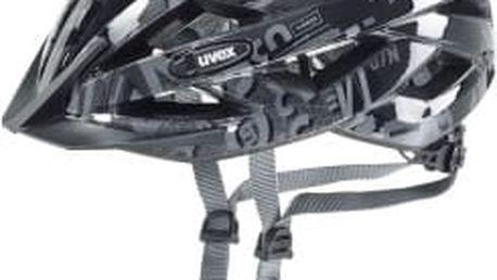 UVEX Air Wing dark silver-black 2016 cyklistická přilba