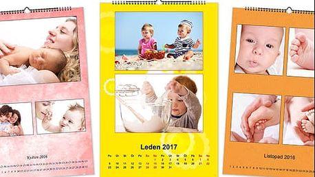 Nástěnné fotokalendáře na rok 2017