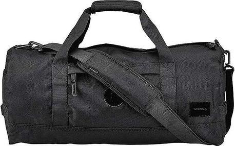 cestovní taška NIXON - Pipes Duffle Allblack (001)