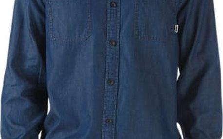 košile VANS - Ostrom Rinse Indigo (KE7) velikost: L