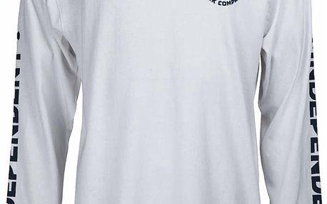 triko INDEPENDENT - ITC Cross White (WHITE) velikost: M