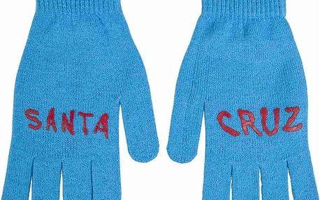 rukavice SANTA CRUZ - Screaming Blue (BLUE) velikost: OS