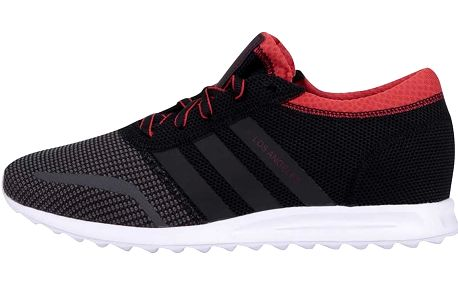 Červeno-černé pánské tenisky adidas Originals Los Angeles