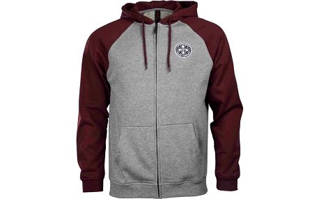 mikina INDEPENDENT - ITC Cross Oxblood/Dark Heather (OXBLOOD DARK HEATHER) velikost: M
