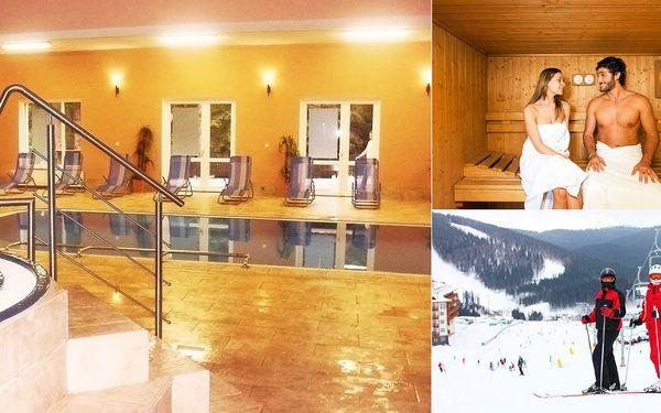 Zimní dovolená s neomezeným wellness a polopenzí pro dva v délce až 5 dnů v Hotelu Filipov*** na okraji CHKO Bílé Karpaty