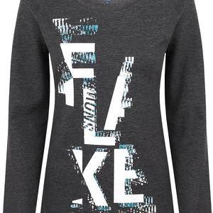 BELICE dámské triko/dlouhý rukáv šedá S