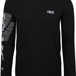 BEM pánské triko/dlouhý rukáv černá L