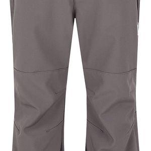 LOAP KIDS CORTINA dětské softshellové kalhoty šedá 122/128