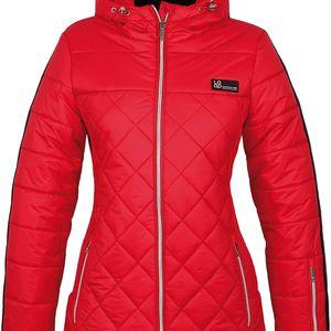 FOLKA dámská lyžařská bunda červená XS