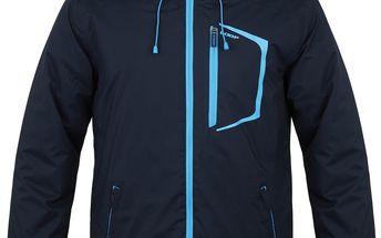 LAFEK pánská lyžařská bunda modrá M
