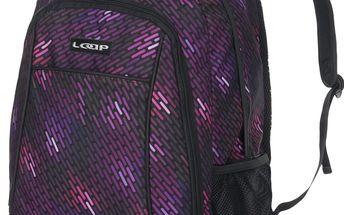 JAVIER školní batoh fialová