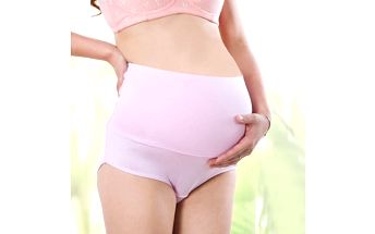 Pohodlné těhotenské kalhotky