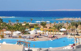 HURGHADA CORAL BEACH, Egypt, Hurghada, 8 dní, Letecky, All inclusive, Alespoň 4 ★★★★, sleva 33 %