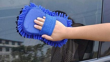 Mycí rukavice s mikrovláknem