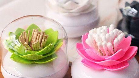 Květinový stojánek na vatové tyčinky nebo párátka - dodání do 2 dnů