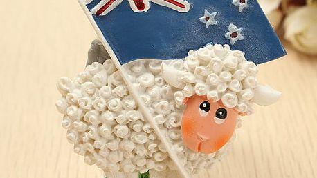 Magnet s novozélandskou ovečkou