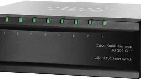 Cisco SG200-08P - SLM2008PT-EU