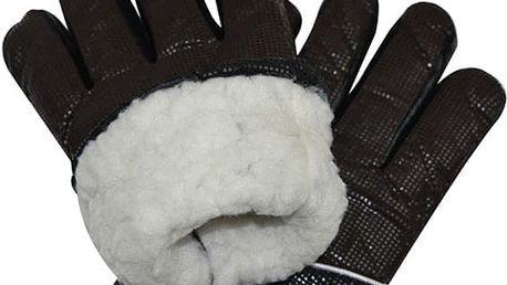 Zimní rukavice na lyžování s ochranou proti chladu a větru