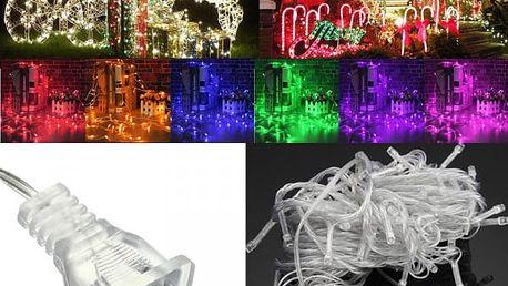 Venkovní osvětlení na Vánoce