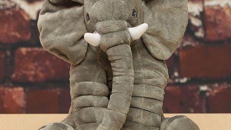 Plyšový slon pro děti - 33 x 28 cm