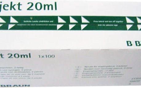 Braun Injekční stříkačka Luer PH 20 m 100Ks