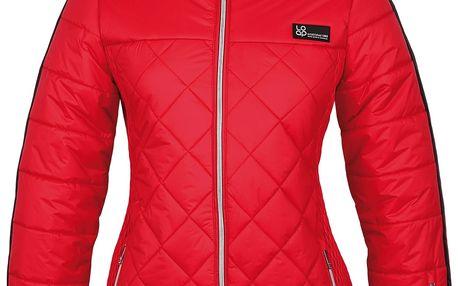 LOAP FOLKA dámská lyžařská bunda červená XS