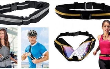 Sportovní elastické pouzdro pro telefony i jiná příslušenství