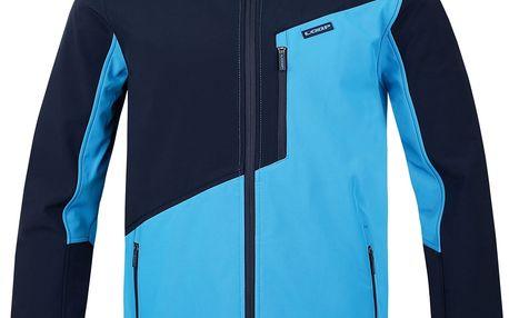 LANKOV pánská softshellová bunda modrá XL