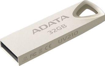 USB Flash A-Data UV210 32GB (AUV210-32G-RGD) kovová