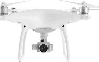 Dron DJI Phantom 4, 4K Ultra HD kamera (DJI0420) (DJI0420) bílý + Doprava zdarma