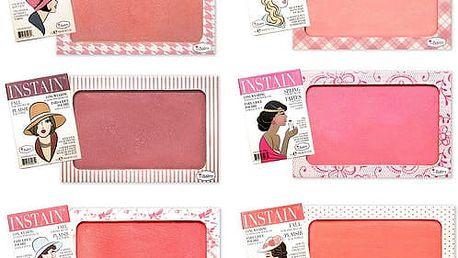 theBalm Dlouhotrvající pudrová tvářenka Instain Blush 6,5 ml Toile Strawberry