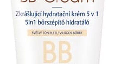 Nivea Zkrášlující hydratační krém 5 v 1 BB Cream SPF 10 (5in1 Beautifying Moisturizer) 50 ml tmavší tón pleti