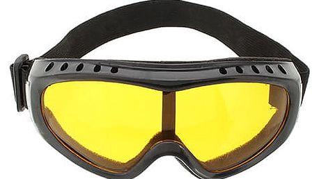 Lyžařské brýle odolné vůči větru