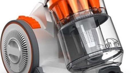 Vysavač podlahový VAX Air Compact C85-AM-B-E šedý/oranžový