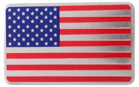 3D samolepka USA