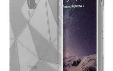 Kryt na mobil Aprolink Origami Crystalized Case pro iPhone 6 (i6PP21.TR) průhledný