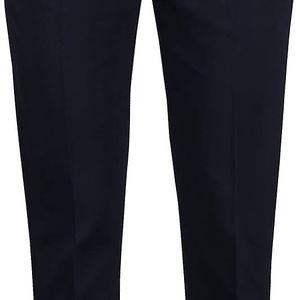 Tmavě modré kalhoty s lesklým detailem Maison Scotch