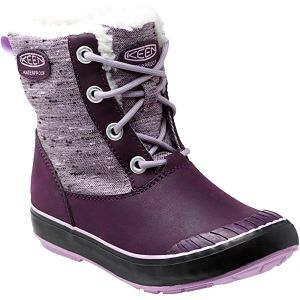 KEEN Junior boty Elsa Boot WP Plum/Lilac Pastel 32-33