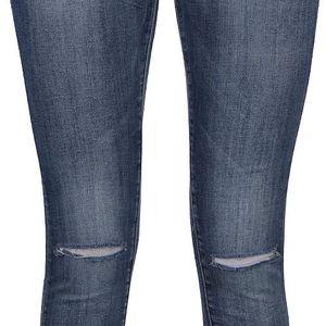 Modré džíny s roztřepenými nohavicemi Haily´s Wiona