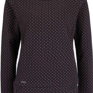 Růžovo-šedá dámská mikina s puntíky Ragwear Kind Dots